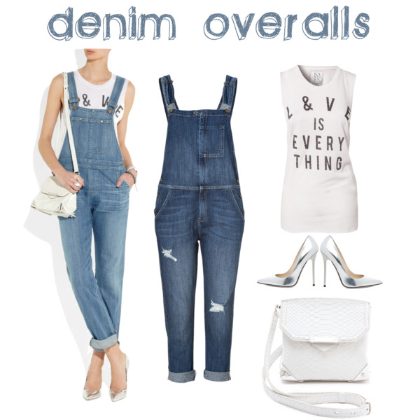 Fashion Flashback: Denim Overalls