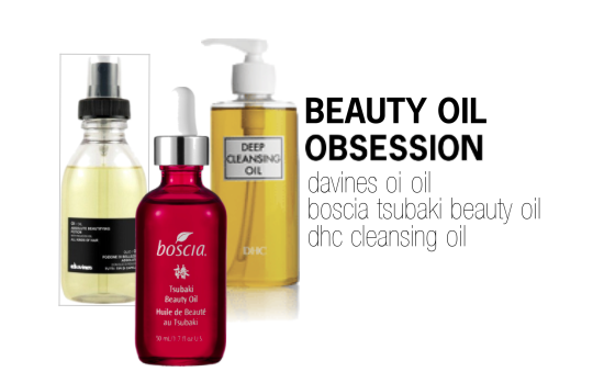 beauty oils, skin cleansing oils