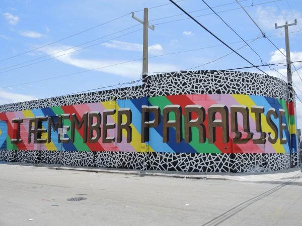 Paradise Street Art Wynwood