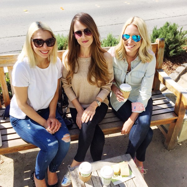 Girls in Yountvile, California