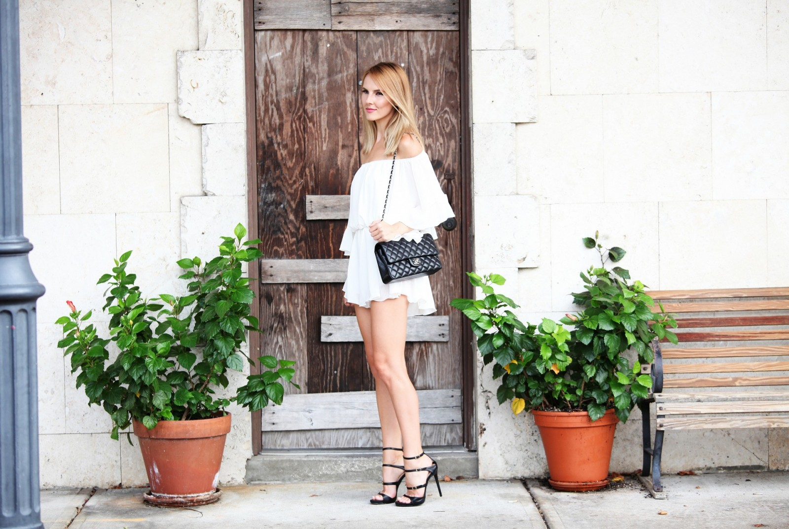 chicwish+frill+like+dancing+romper+white+street+style